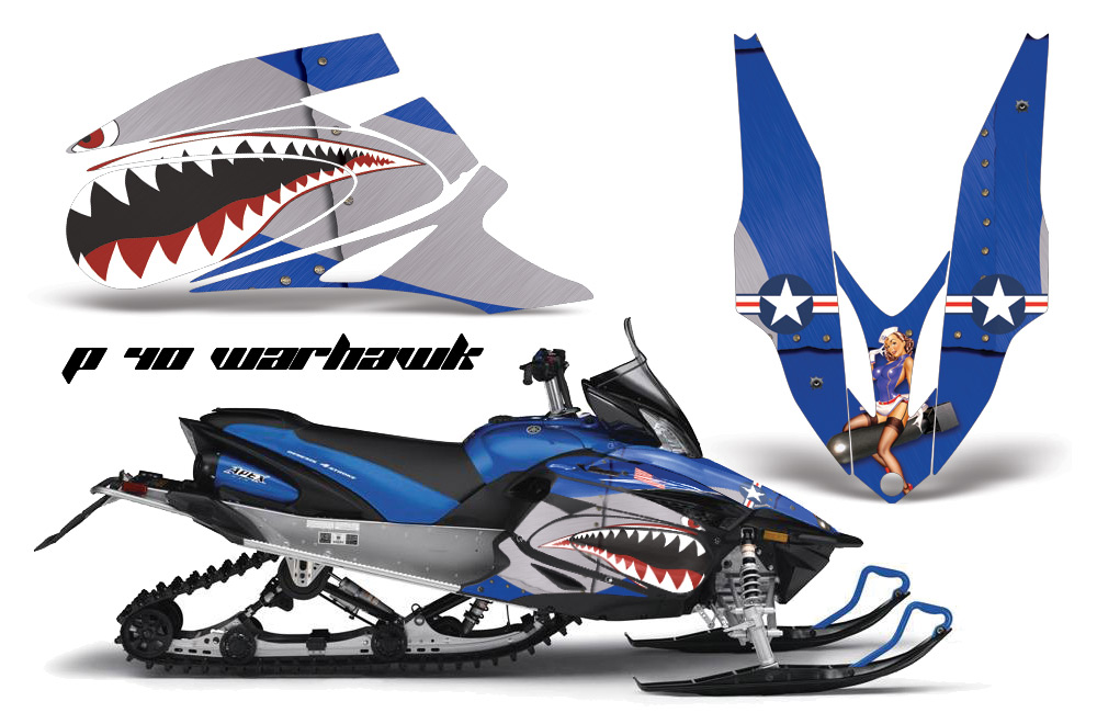 Snowmobile Graphic Kits Sled Graphics Sled Wraps Custom - Decal graphics